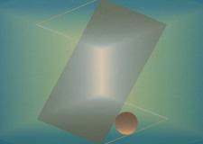 1990 Secuencia espacial. 5 cuadros